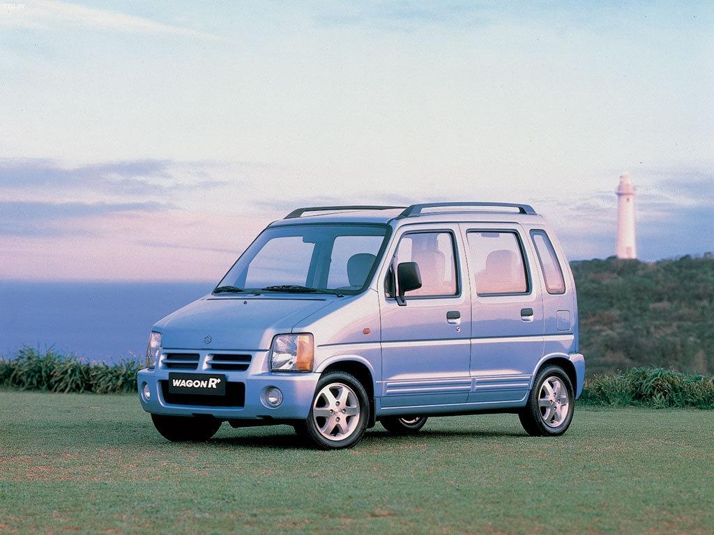 SuzukiWagon R+